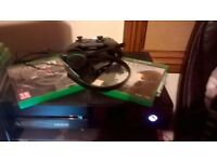 Xbox one with games! 1 controller,standard headset.