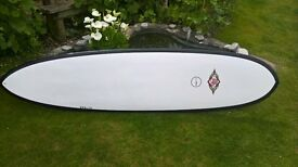 8 ft epoxy minimal/ mini longboard surfboard
