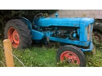 mayor tractor 6 cylinder with forestry winch