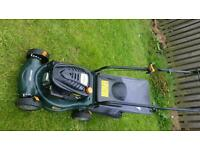 Petrol lawnmower as new