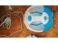 Foot massager and tanning machine