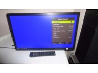 """TECHNIKA 24"""" LED FREEVIEW TELEVISION FULL HD 1080P"""