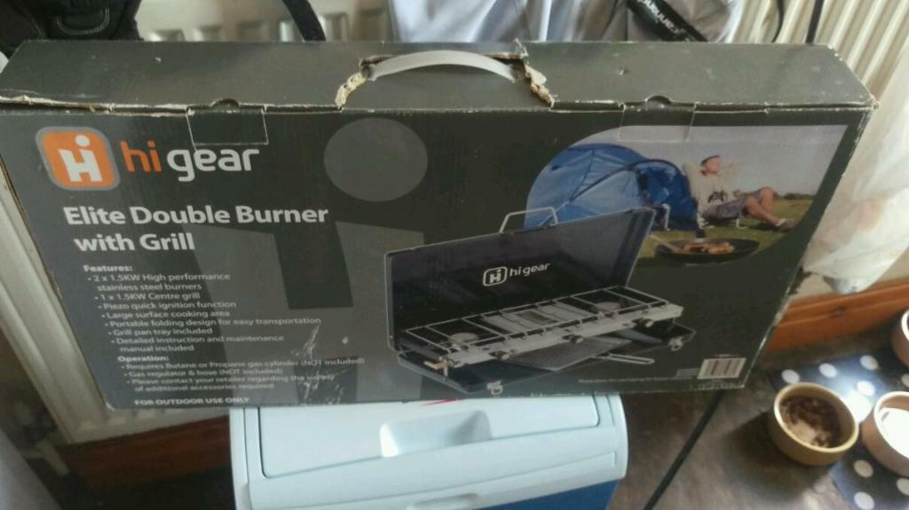 HI Gear Elite Double Burner with Grill in Pudsey West  : 86 from gumtree.com size 1024 x 575 jpeg 58kB