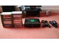 Microsoft Original OG Xbox Console + 40 Games Bundle Leads Controller Full Setup