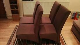 Dining Chairs (4 Pieces, Great Condition)