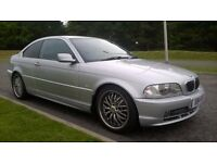 BMW E46 3.0 330Ci coupe SE MANUAL, NEW MOT,, ONLY 88K MILES