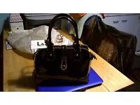 black long amd son handbag