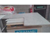 Real granite L shaped worktop new poss del.
