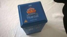 doctor who ' video box set ' & doctor who micro figures