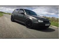 VW GOLF 2.8 v6 4motion 12 months M.O.T