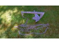 "18"" Bruce Anchor. Galvanised Steel"