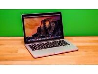 "Macbook Pro Retina 13"" 2013 . i5 -4GB -128GB SSD . Final cut , Logic Pro, Office"