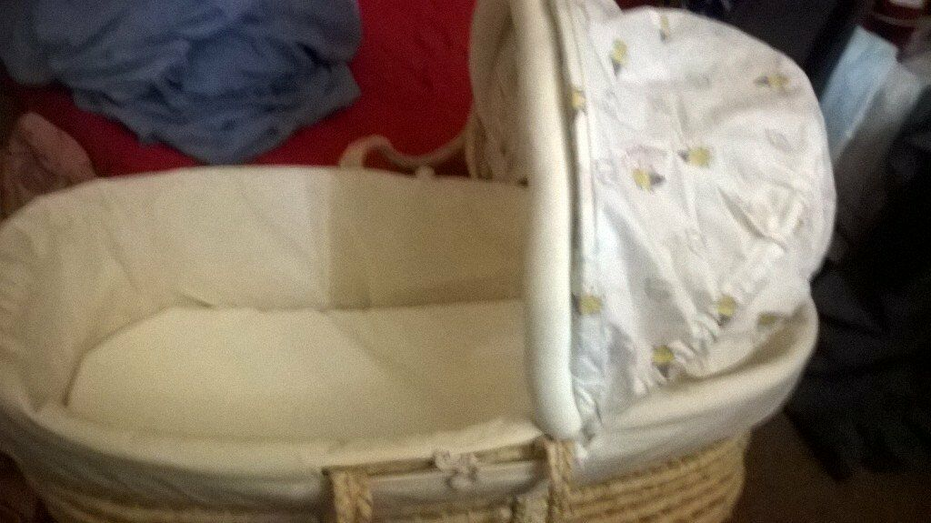 mother care mosses basket great condtion