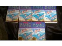 chamber of secrets x 6 no writing,tears staines ex condition 2x 2nd 11th print runs, others in 20s.