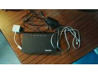 TalkTalk Router (with cable, filter and adapter)