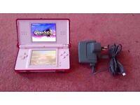 Nintendo DS Lite Pink Console Portable Handheld