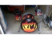 fortissimo custom drum kit one off