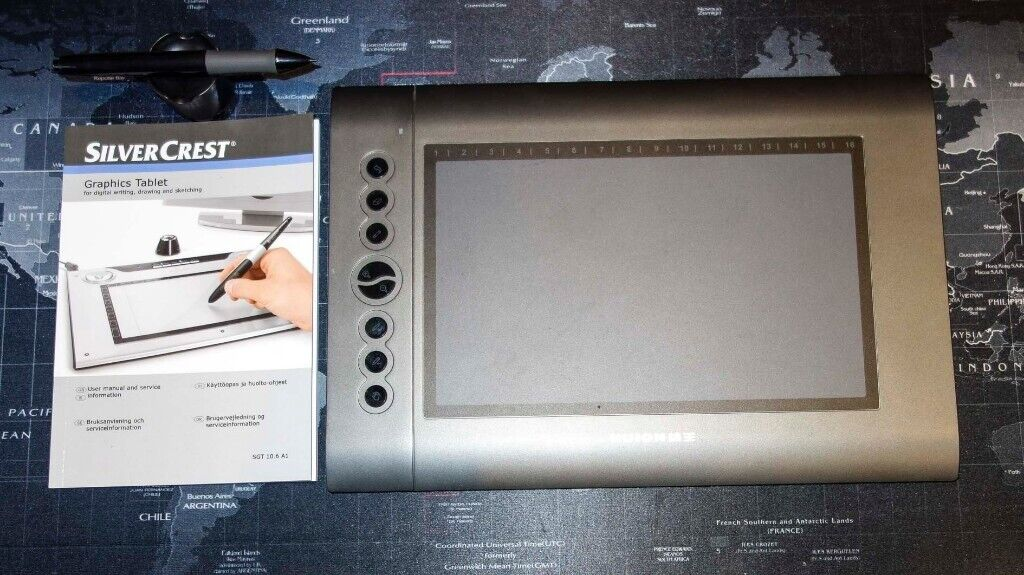 Huion 610 Graphic Drawing Tablet | in Chatham, Kent | Gumtree
