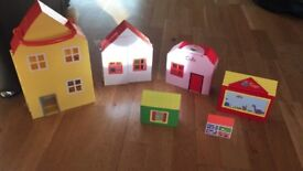 Peppa Pig House play-set.. Good Used Condition £5.00