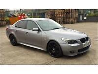 "2005 BMW 525d m sport 19"" Spyder alloys e60 530d full service"