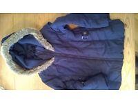 Jasper Conran at Debenhams Girls Winter Coat Age 7-8 Years