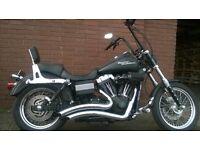 Harley Davidson streetbob custom bobber