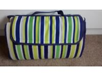 Travel picnic rug