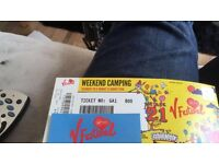 2 X weekend camp v festival tickets at Weston park