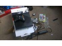 console x box 360 , 500 gb as new