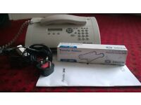 Sagem Phone and Fax Machine with brand new replacement transfer ribbon - £30 ono