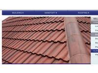 Brand New Redland Roof Tiles Double Roman Over 100 left over