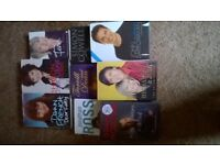 10 autobiographies hardbacks and one paperback autobiography (see description)