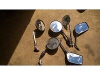 Job lot Motorcycle Mirrors