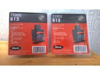 8 X BLACK INK CARTRIDGES BN SEALED PACKETS
