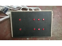 8 channel disco light controller, lightning effects controller