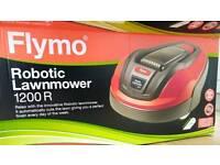 Flymo 1200r robotic lawn mower
