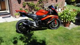 Suzuki GSXR 600 2009 K9 (2010 registration plate) Limited Edition Candy Orange