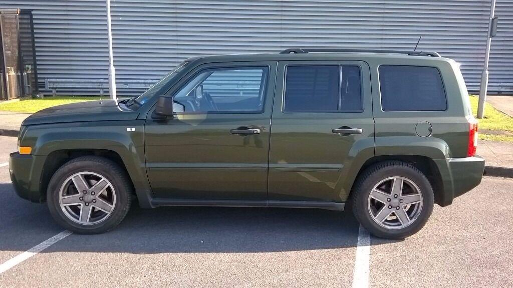 2008 jeep patriot limited crd 2 0 metallic green in nailsea bristol gumtree. Black Bedroom Furniture Sets. Home Design Ideas
