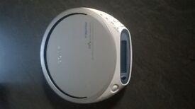 Sony D-FJ211 CD Walkman with FM/AM Radio