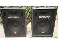 "Peavey ""15 passive speakers (pair) in good condition"