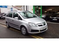 2006 VAUXHALL ZAFIRA LIFE 1.6cc PETROL 7 SEATER 6 MONTH'S WARRANTY. We have Diesel in Stock Aswell.