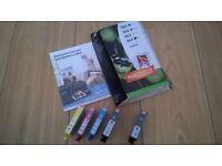 HP364 Original Ink Cartridges Combination Pack + Photopaper & Additional Black Cartridge