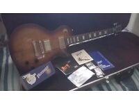 2015 Gibson Les Paul Studio Electric Guitar Desertburst + Case 'Mint'