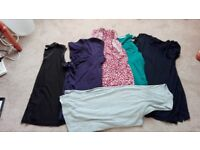 Ladies size 22 tops and cardigan all good condition, 10 items altogether