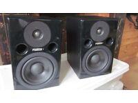 FOSTEX PMO.5 MKII profesional studio monitors.