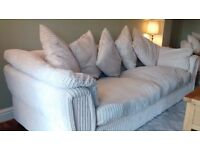 4 seater sofa chair with cuddle armchair