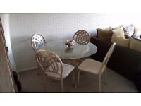 ** LOVELY TABLE & CHAIRS - PRICED FOR A QUICK SALE **