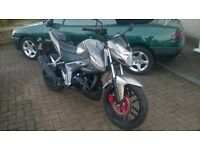 Kymco Ck125 .Learner legal .2015, only 1250 miles