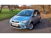 2007 FORD C-MAX ZETEC 1.8 PETROL/LPG, MANUAL, MPV, NEW DISCS AND PADS, VERY ECONOMICAL, DRIVES WELL!