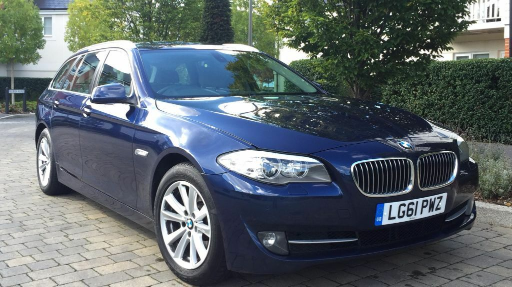 2012 bmw 520d auto estate touring full bmw history in epsom surrey gumtree. Black Bedroom Furniture Sets. Home Design Ideas